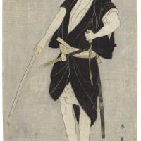 39. katsukawa shun'ei (1762–1819)the actor ichikawa danjuro vi as ono sadakuro edo period, late 18th century   