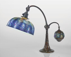 202. tiffany studios | counter-balance desk lamp