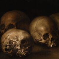 11. italian school, 17th century | still life of skulls