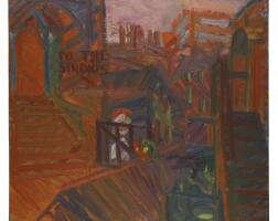32. Frank Auerbach