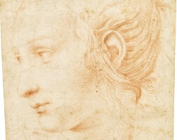 308. circle of raphael | head of a female muse