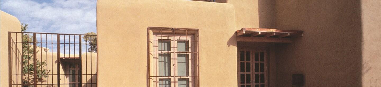 Exterior View, Georgia O'Keeffe Museum