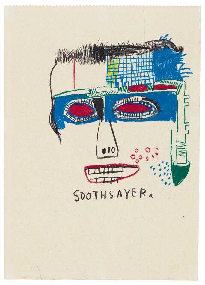 Jean-Michel Basquiat Soothsayer