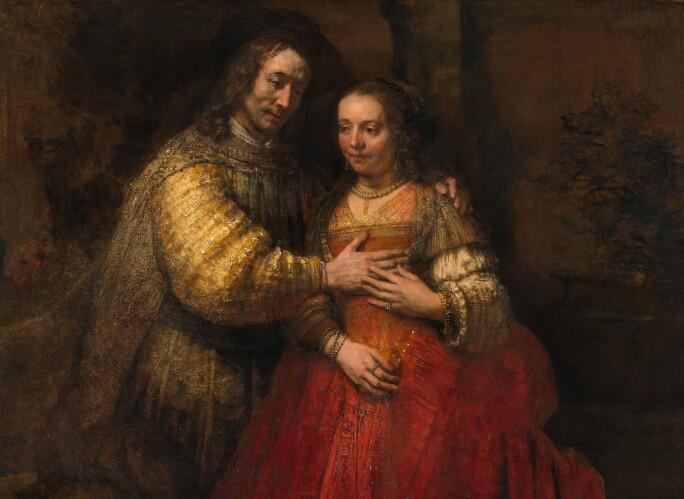 Rembrandt-van-Rijn-The-Jewish-Bride