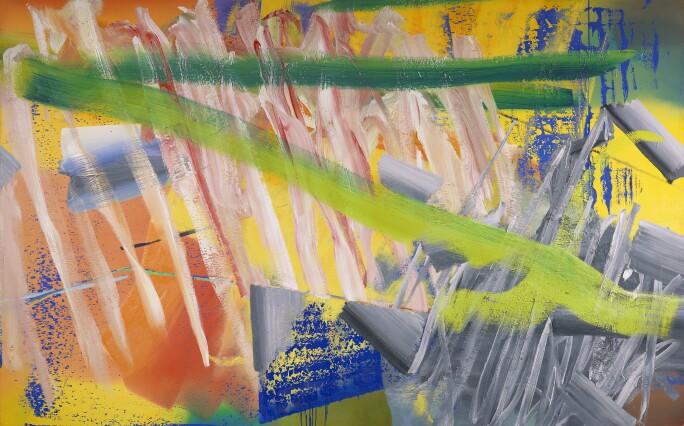 Gerhard Richter - Gruner Strich (green stroke) - 1982.jpg