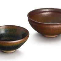 303. two jian 'hare's fur' bowls southern song dynasty |