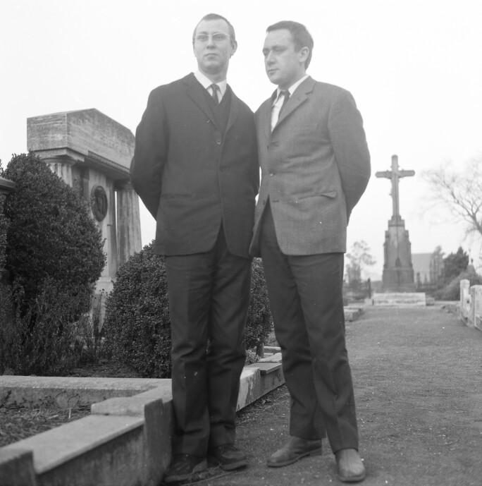 Sigmar Polke and Gerhard Richter Dusseldorf