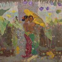 1104. 勒邁耶 | 傘下二女子
