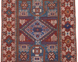 28. a west anatolian double re-entrant rug, probably bergama