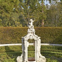 314. a south german rococo carved limestone fountain possibly bamberg, circle of ferdinand tietz, mid-18th century