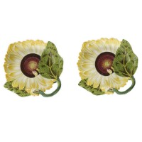 12. a fine pair of chelsea porcelain sunflower dishes circa 1755