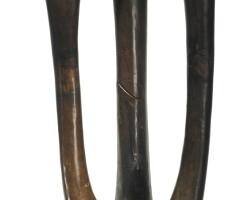 48. senufo female statue (deble), ivory coast or burkina faso