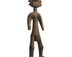 7. a bamana female figure, mali