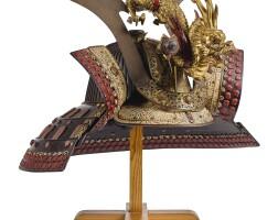 7. a sujibachi kabuto[helmet] edo period, 17th century |