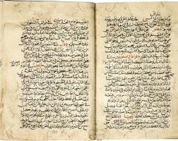 16. diya' al-din abu muḥammad ʿabdullah ibn aḥmed al-malaqi, known asibn al-bayṭar (d.1248), kitab al-jami' li-mufradat al-adwiyah wa'l-aghdhiyah ('thecompendium on simple drugs and foodstuffs'), signed by the author, probably syria, damascus, ayyubid, dated 635 ah/1237-38 ad