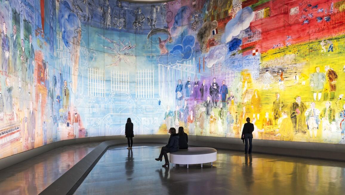 Interior View, Musée d'Art Moderne de la Ville de Paris