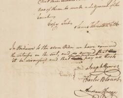 22. joseph hewes, signer of the declaration from north carolina