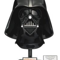 13. signed star wars revenge of the sith darth vader helmet, master replicas, 2006