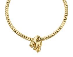 282. necklace, 'panthère', cartier, 1970s