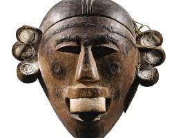 36. masque, makonde, tanzanie  