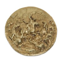 604. a continental gold plaquette, probably netherlandish, circa 1620 |
