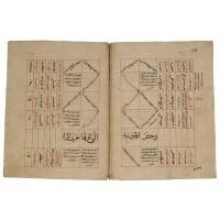 12. al maghribi, ibrahim bin abi sa'id al-'ala'i. al fatih fi al-tadawi li jamee' al-amradh wa al-shakawi, known as al-adwiya al-mufrada, copied by 'ali bin 'isa bin abi al-fatih al-arbili, seljuk, persia, dated a.h. 684/a.d.1284