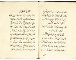 22. hafs 'umar ibn muhammad, ibn ahmad luqman al-nasafi (d.1142 ad), kitab al-manzuma fi'l-khilafat, acollection of 294 hadith, commissioned by shams al-din ibnmuhammad, near east, mamluk, late 14th century
