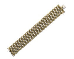 39. diamond bracelet, cartier, circa 1960
