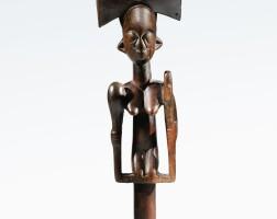 104. sceptre oshe shango, yoruba, nigeria  