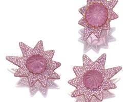 16. tourmaline and sapphire demi-parure, 'stars', michele della valle