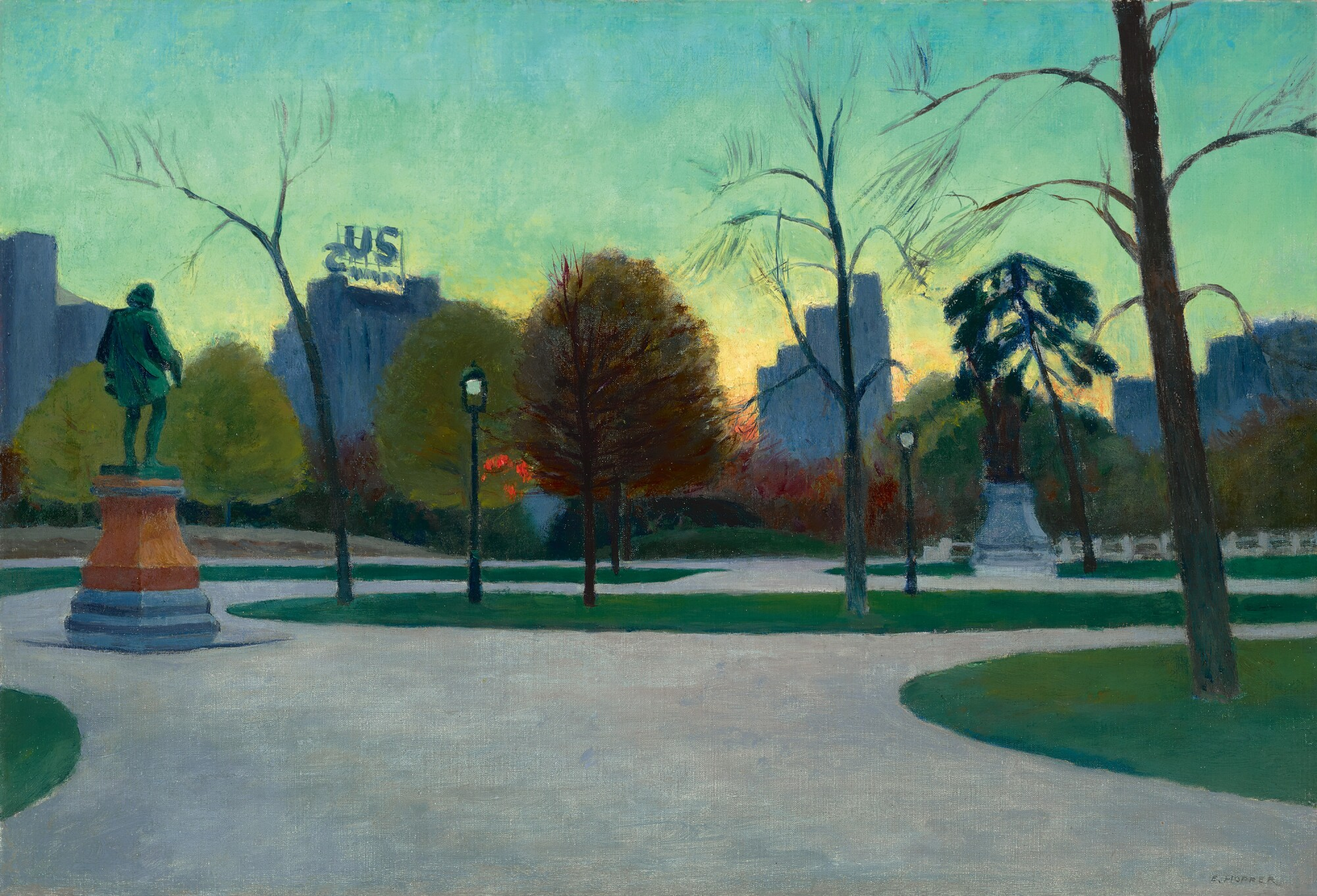 Edward Hopper's Central Park   American Art   Sotheby's