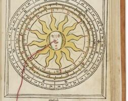 9. regiomontanus, johannes. kalendarius teütsch. augsburg: [j. sittich], january 1514