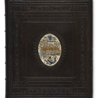 309. tennyson, alfred lord. illuminations from idylls of the king. circa 1880