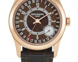 46. patek philippe | calatrava, reference 6000 a pink gold wristwatch wtih date, circa 2008