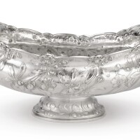40. louisiana purchase exposition, st. louis: an american silver centerpiece bowl, gorham mfg. co., providence, ri, 1904  