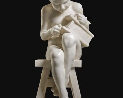 12. emmanuel villanis | seated boy
