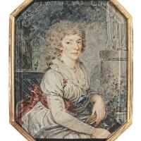 310. augustin ritt | portrait of a noblewoman, circa 1795