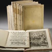 1. accademia di san luca, belle arti, 1703-1786, 16 volumi