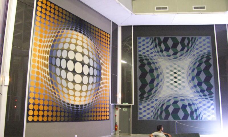 Fondation Vasarely Interior