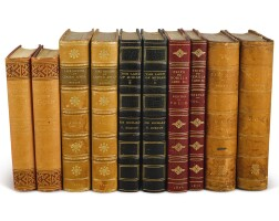 11. burton, richard f. 'a group of five first editions'. london: 1860, 1872, 1876, 1879, 1883