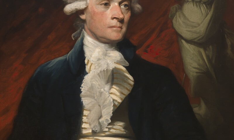 Mather Brown - Thomas Jefferson
