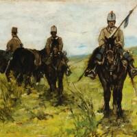 6. giovanni fattori | horsemen