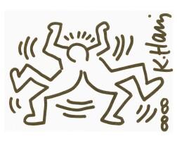 53. Keith Haring (1958 - 1990)