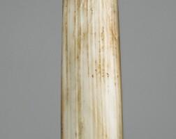 53. tablette en jade, gui dynasty shang, ca. 1300 avantj.-c.