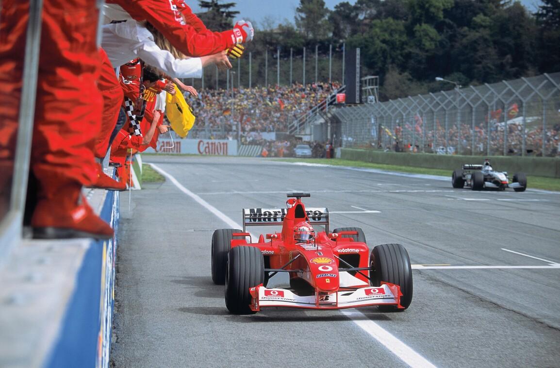 Formel 1-Ferrari F1-Team T-Shirt Michael Schumacher World Champion