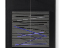 8. jesús rafael soto | petite vibration brique et noire