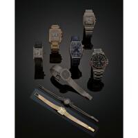 8. an 18 carat gold lady's wristwatch, patek philippe, ref. no. 3086-56, circa 1960