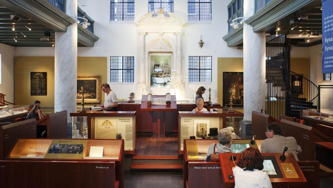 Interior View, Jewish Historical Museum, Religion