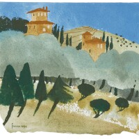 521. mary fedden, r.a. | tuscany