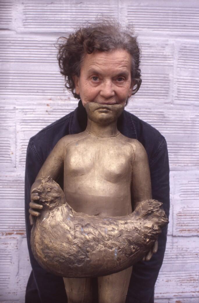 Portrait de Claude Lalanne en 1999